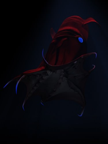 Адский вампир или адский кальмар-вампир (лат. Vampyroteuthis infernalis) (англ. Vampire Squid)